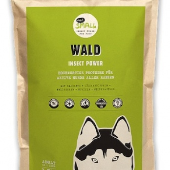 WALD - The dog food from insects for active dogs 2kg
